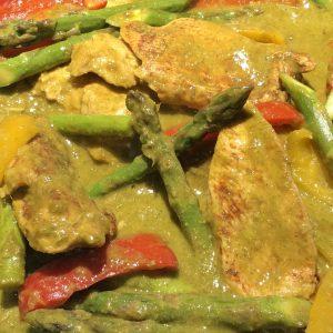 poulet laksa