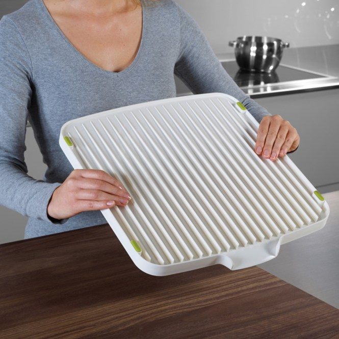 3 In 1 Kitchen Sink Cutting Board Removable Chopping Blocks Drainage With Drain Basket Shelf