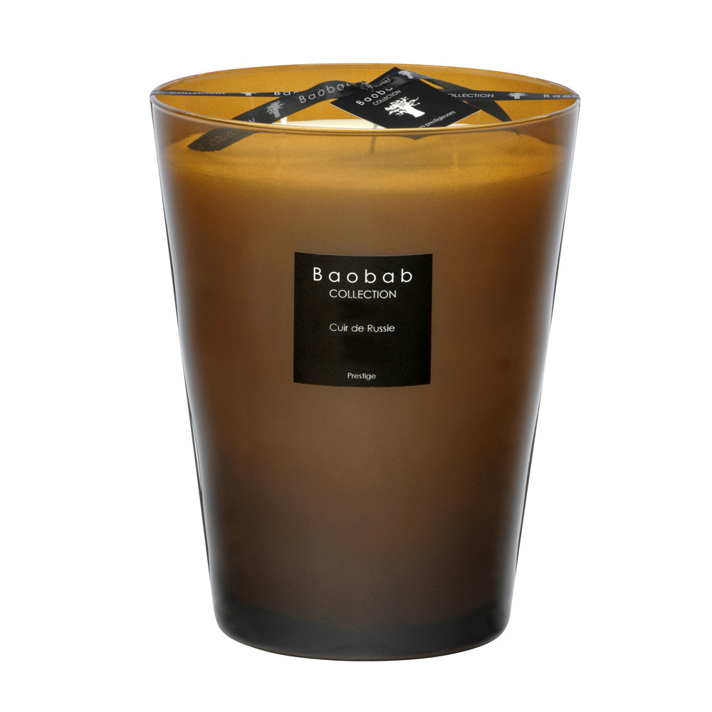 Buy Baobab Collection Scented Candle Tanned Hide Amara