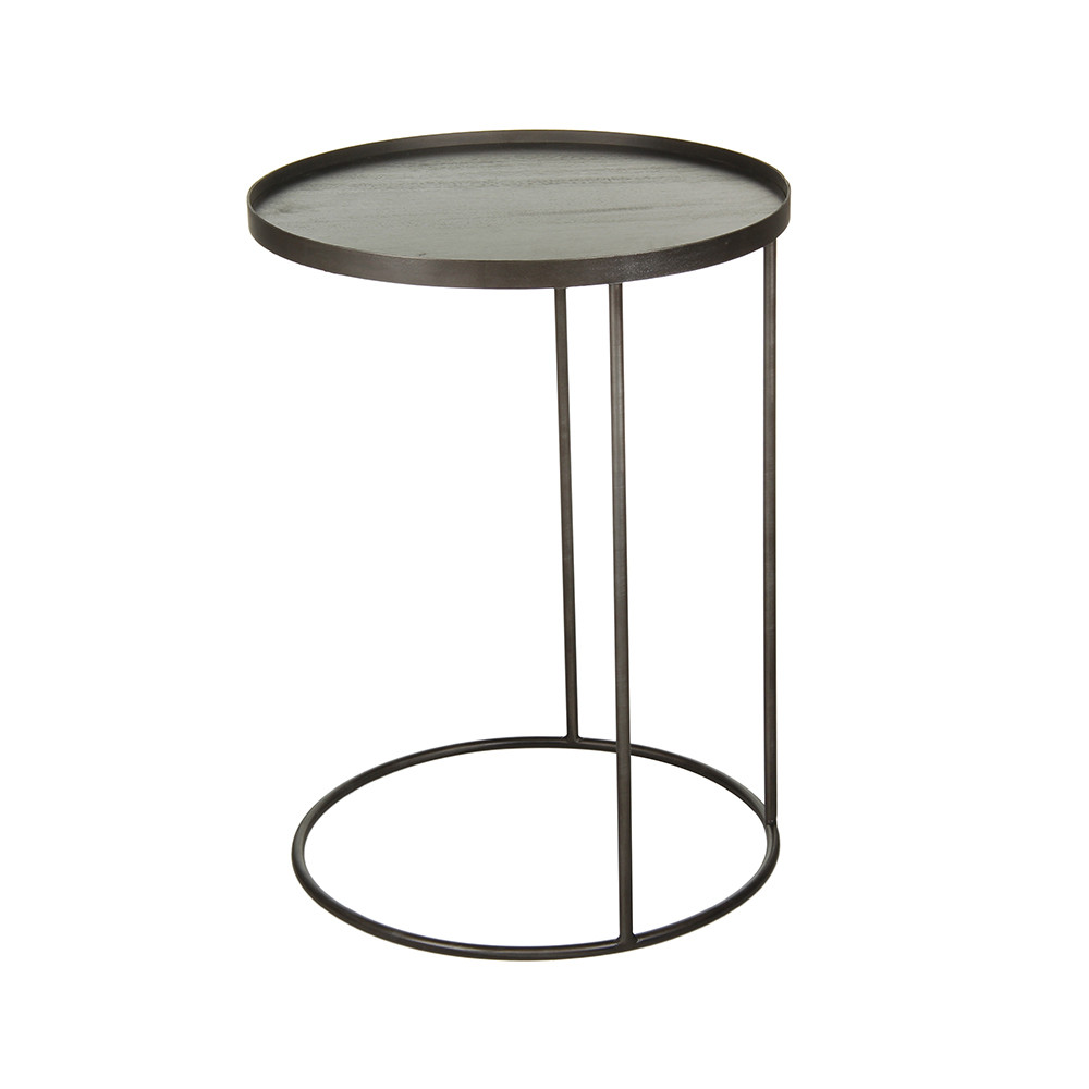 round tray table small