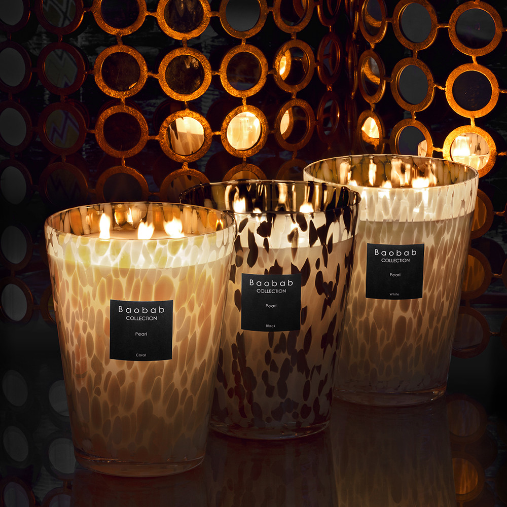 Buy Baobab Collection Scented Candle Black Pearls Amara