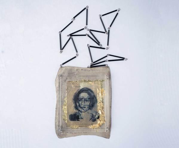 Autorretrato. Collar Arte contemporáneo. Joyería contemporánea. Jewelry contemporarny