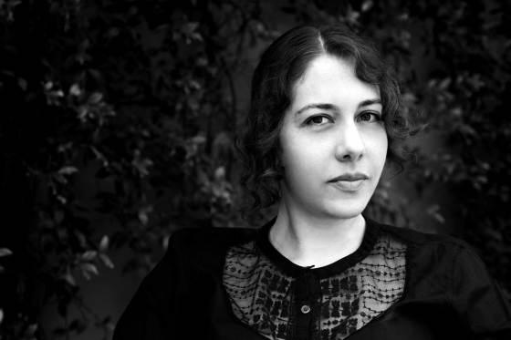 Retrato Aline Berdichevsky. Diseñadora de joyas . jewelry designer. Joyera mejicana. Joyería Barcelona