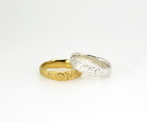 wedding rings-Laurel-Alianzas.Oro. Gold-rings-silver- plata