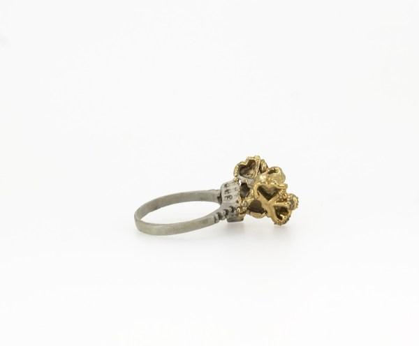 Anillo plata. Babel. Corazones. Barcelona joyería. plata, silver, gold, ring. Edu Tarin