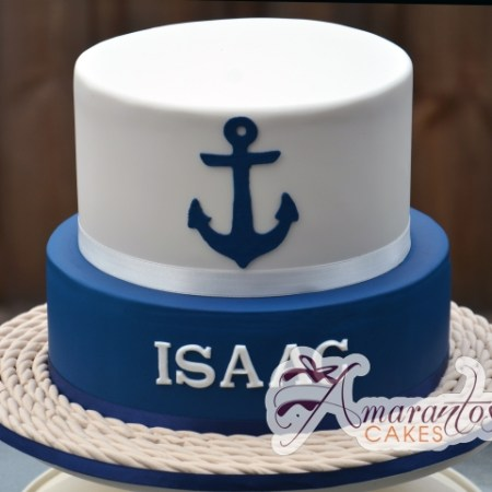 Two tier Nautical Cake - Amarantos Designer Cakes Melbourne