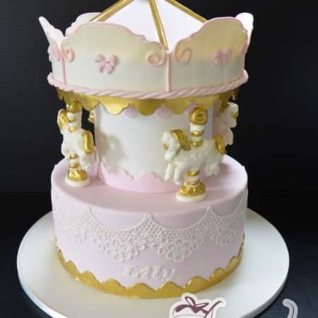 Carousel cake CC79