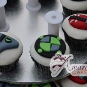 Ben 10 cup cakes