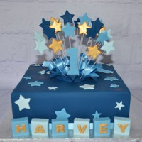 Square Amazing as Always Cake - Amarantos Designer Cakes Melbourne