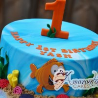 Bubble Guppy Cake - Amarantos Designer Cakes Melbourne