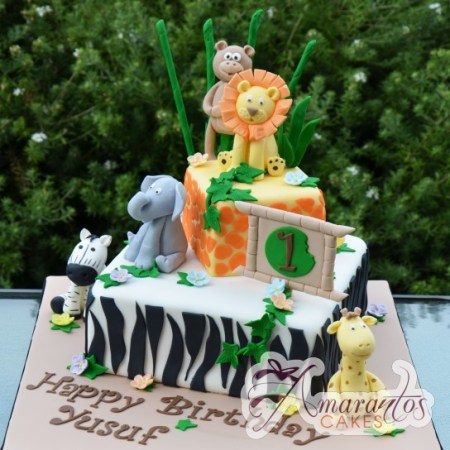 Two tier Jungle theme- NC438 1