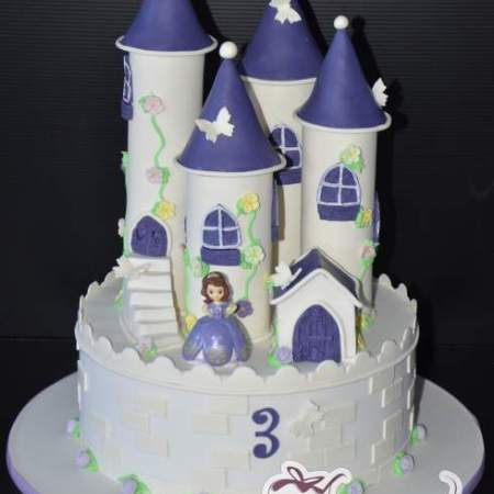 SOFIA THE FIRST CASTLE CAKE NC549