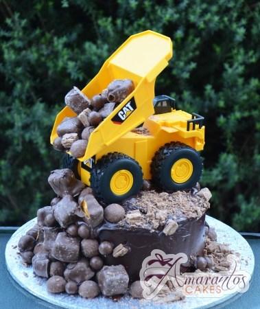 Dump Truck Cake - Amarantos Designer Cakes Melbourne