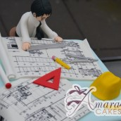 Architects Cake - Amarantos Custom Made Cakes Melbourne