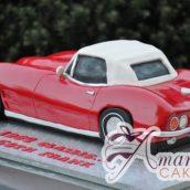 3D Corvette Cake - Amarantos Custom Made Cakes Melbourne