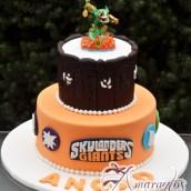 Two tier Skylander Cake - NC681 - Amarantos Celebration Cakes Melbourne