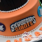 Two Tier Skylander Giants Cake - Amarantos Designer Cakes Melbourne