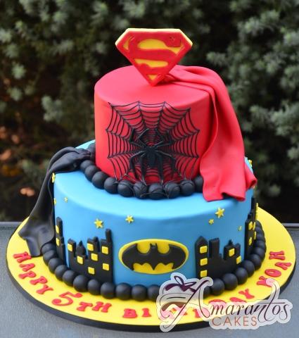 Super Hero Cake Nc695 Amarantos Celebration Cakes
