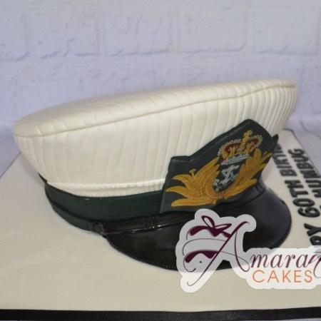 Naval Hat Cake - Amarantos Custom Made Cakes Melbourne