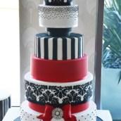 Six Tier Cake - WC32 - Amarantos Designer Cakes Melbourne