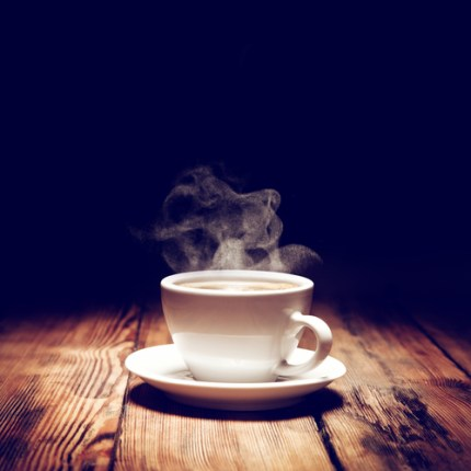Steaming coffee cup - Winter cakes - Cakes for any occasion Amarantos Melbourne