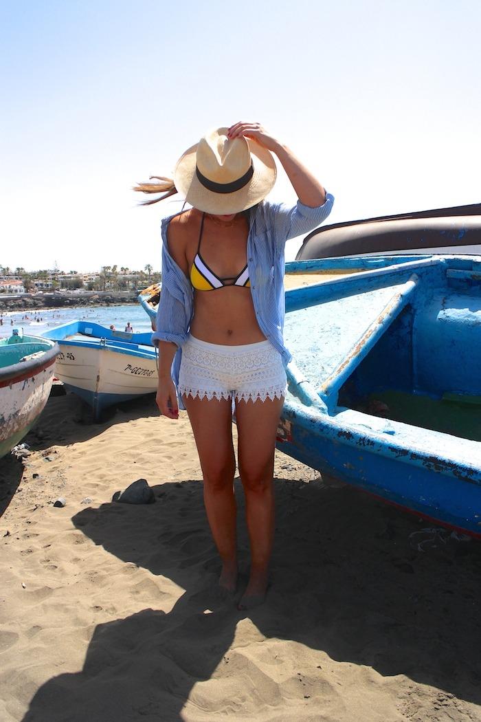 las palmas las burras hym shirt hym shorts calzedonia bikini amaras la moda 6