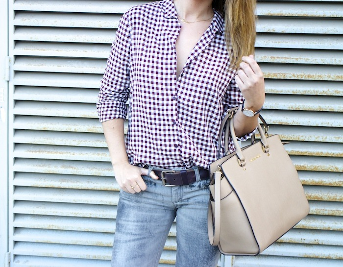 camisa cuadros zara botas mustang dolce and gabanna jeans michael kors bag amaras la moda 5