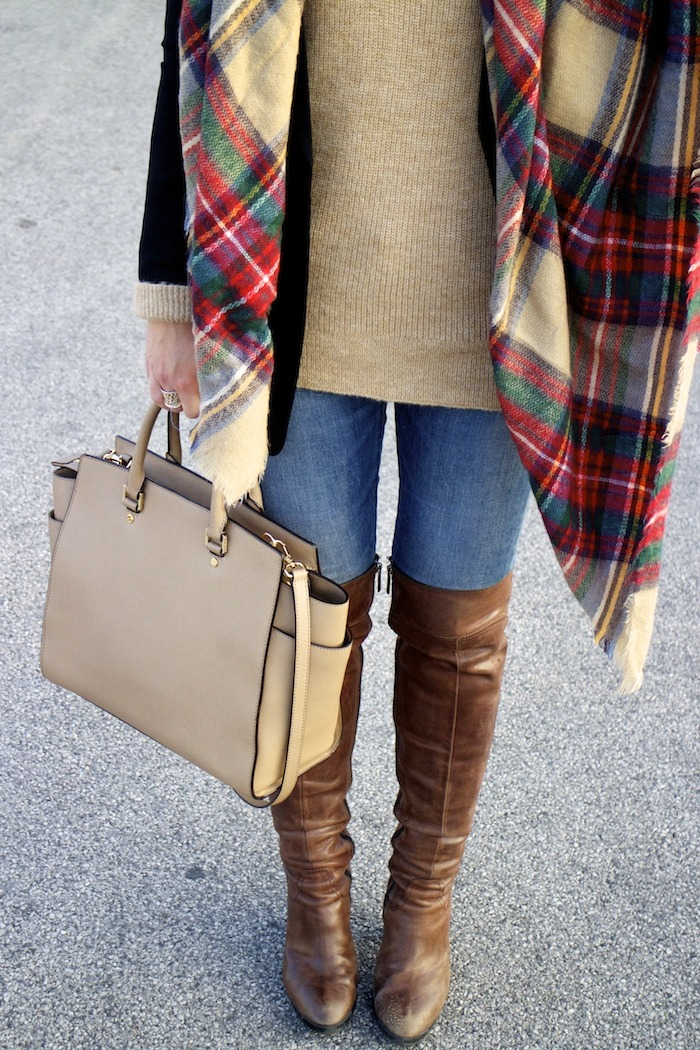 Viena sombrero sweater jeans Zara boots pons quintana blazer hym bolso pons quintana 3