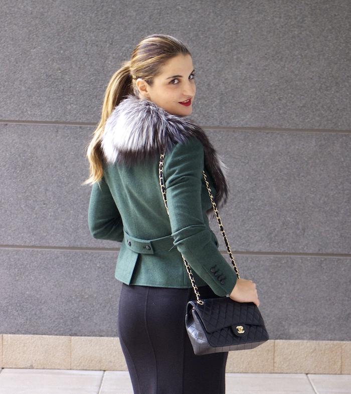 dolce gabanna jacket fox chanel bag pilar burgos shoes 4