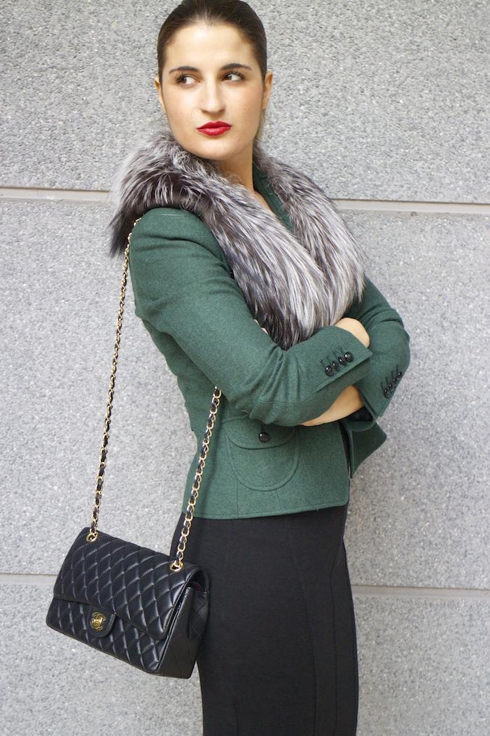 dolce gabanna jacket fox chanel bag pilar burgos shoes 6