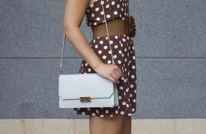 pretty woman dress Zara Ecco bag amaras la moda 4