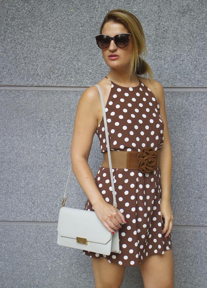 pretty woman dress Zara Ecco bag amaras la moda 6
