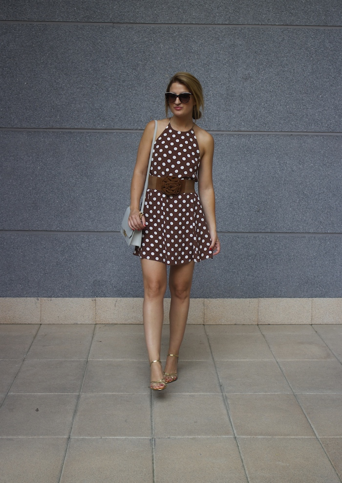 pretty woman dress Zara Ecco bag amaras la moda