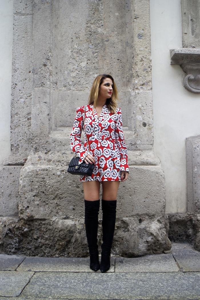 Tara Jarmon Madrid jumpsuit flowers Amarás la moda Paula Fraile 5