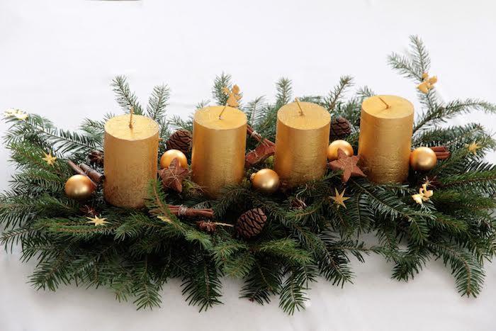 livingo decoración centros de mesa navidad amaras la moda9