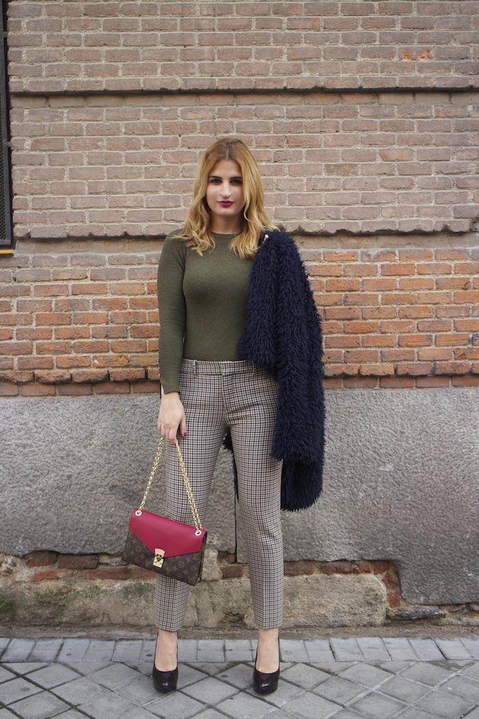 louis vuitton bag zara pants amaras la moda Paula Fraile3