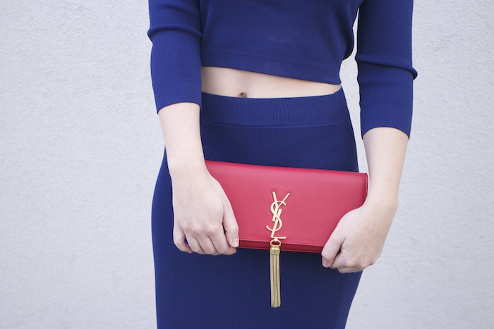 etxart and panno top and skirt Yves saint laurent bag amaras la moda Paula Fraile Fashion blogger3