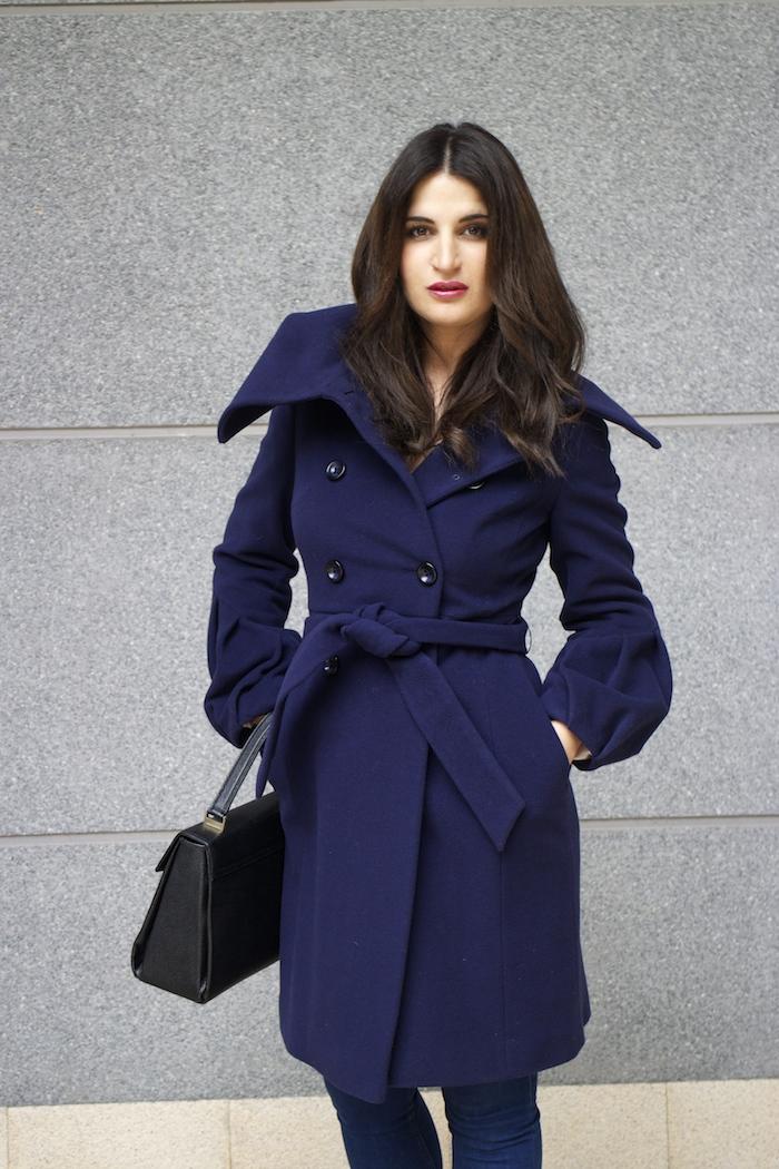 Coast coat sergio rossi stilettos zara top angel schlesser bag paula fraile amaras la moda7