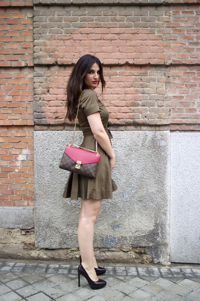 vestido michael kors paula fraile louis vuitton bag paula fraile amaras la moda3