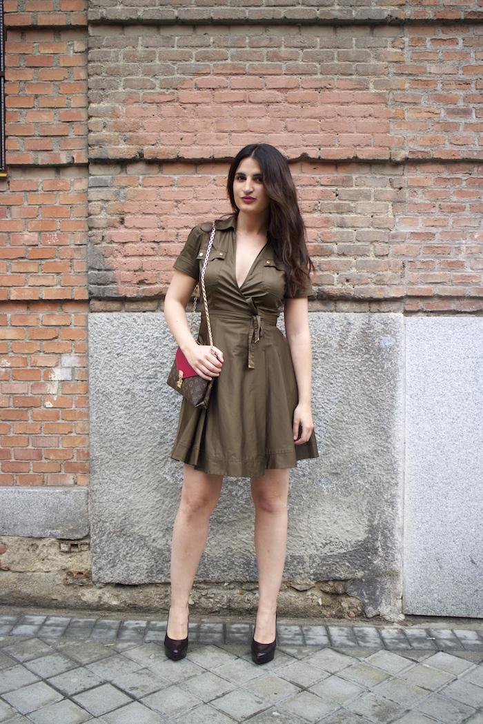 vestido michael kors paula fraile louis vuitton bag paula fraile amaras la moda5