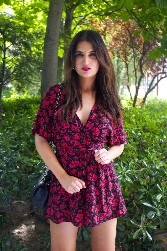 mono easy wear el corte inglés chaque roja tintoretto amarás la moda Paula Fraile Jimmy Choo shoes5