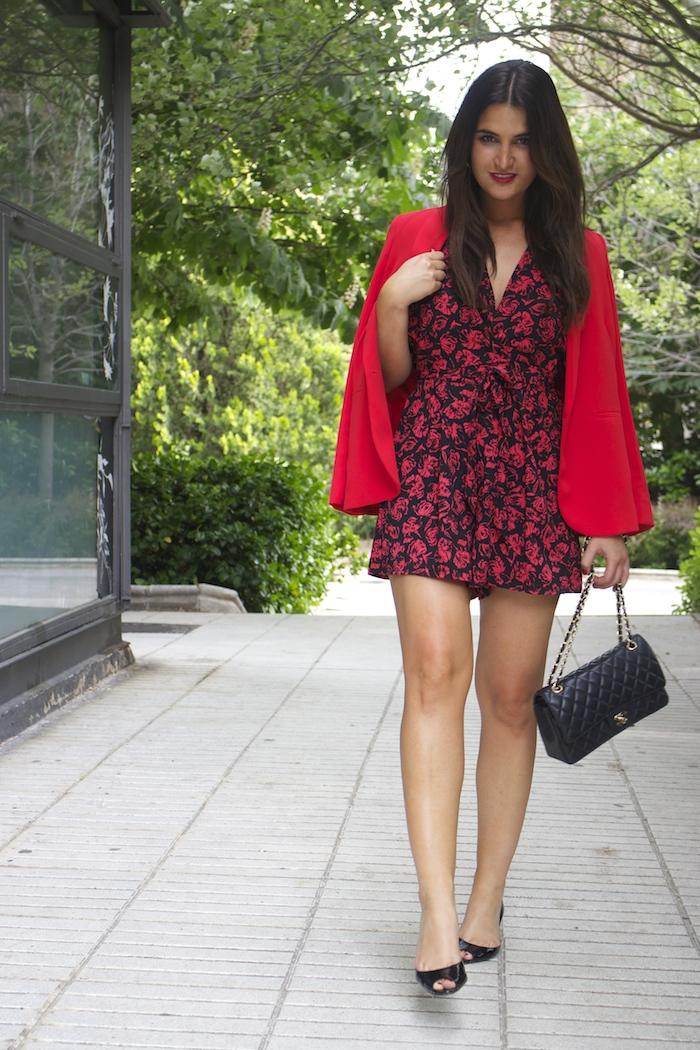 mono easy wear el corte inglés chaque roja tintoretto amarás la moda Paula Fraile Jimmy Choo shoes6