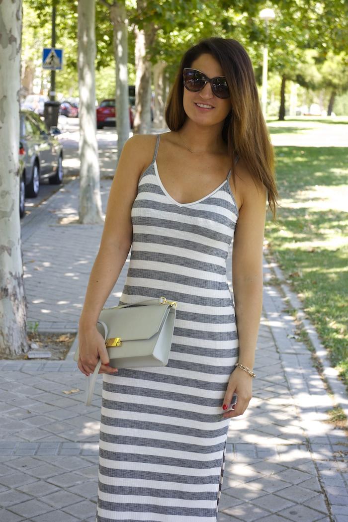 bershka dress ecco shoes bag amaras la moda paula fraile3