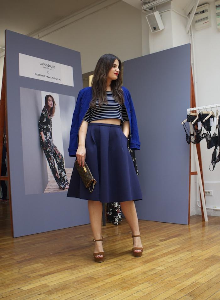 pressday La Redoute Paris Amaras la moda Paula Fraile.5