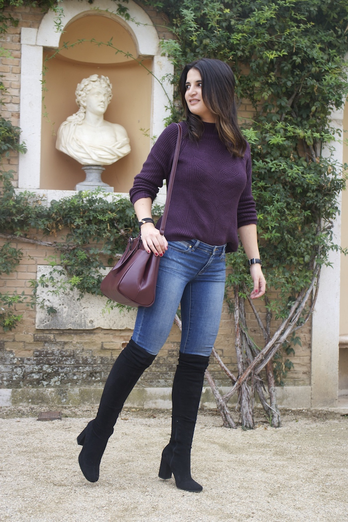 henry-london-watch-la-redoute-sweater-bag-over-the-knee-boots-paula-fraile-amaras-la-moda-2
