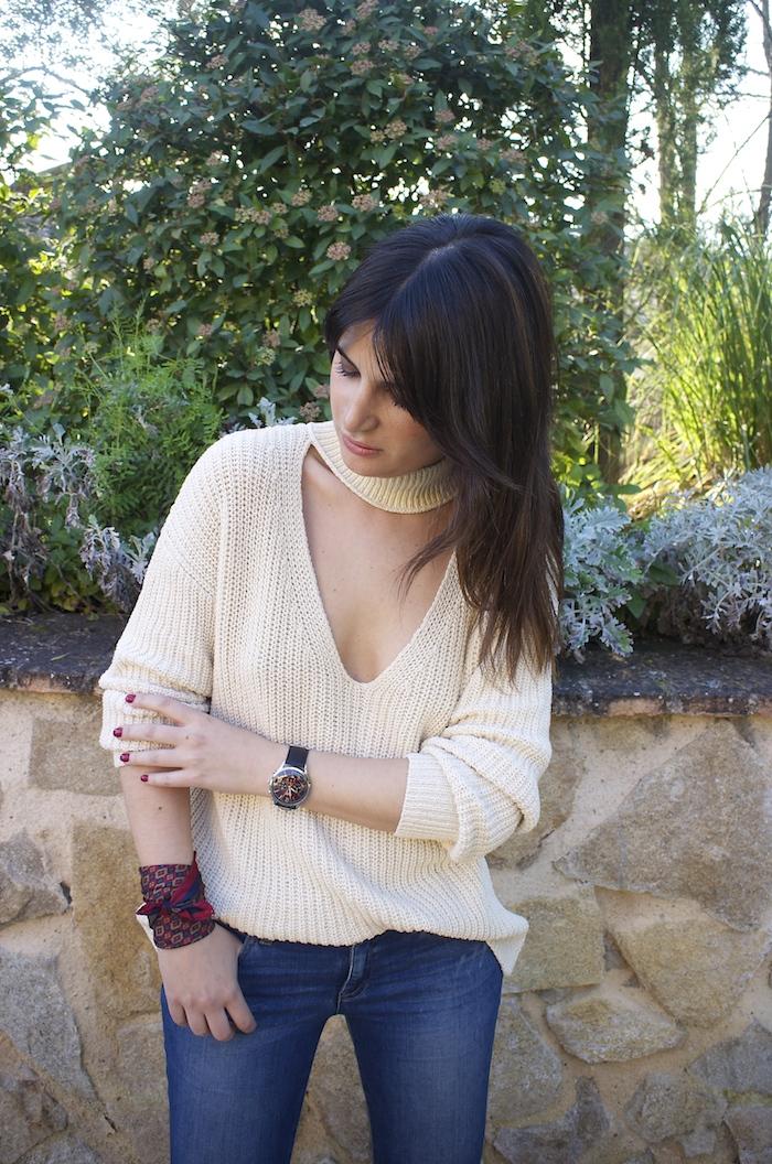 embajadora henry london amaras la moda jeans jersey zara reloj