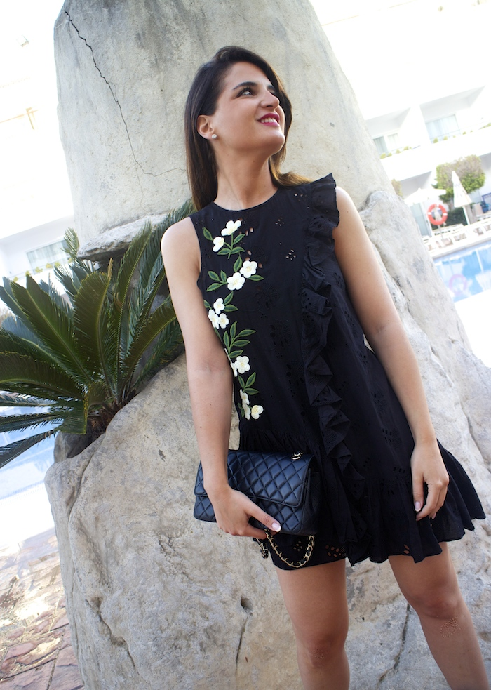 iberostar costa del sol amaras la moda vestido zara paula fraile