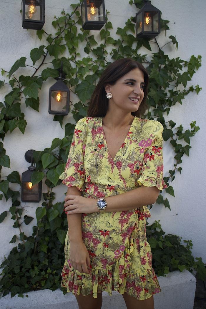 vestido zara embajadora Henry London amaras la moda paula fraile4
