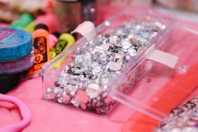 BottleRock Napa Valley Photography Portait of C-Love Booth Glitter Sparkle Kit by Amarie Design Co.