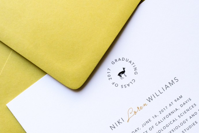 Custom Invitation Design and Luxe Stationery for Llamas & Lemons Suite by Amarie Design Co.